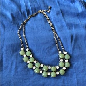 Loft green necklace